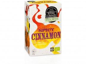 Bio bylinný čaj Spicy Cinnamon 27g