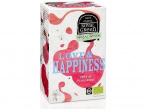 Bio bylinný čaj Love & Happiness 27g