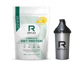 Complete Diet Protein 600g banán + šejkr zdarma