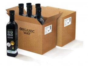 AKCE Bio Konopný olej panenský 500ml balení 12ks