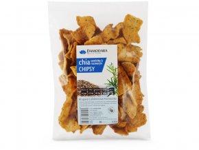 Chipsy s chia semínky a rozmarýnem 100g