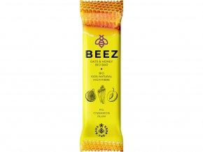 Bio ovesná tyčinka BEEZ fíky, skořice, švestka 40g