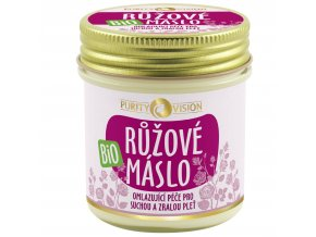 Bio Růžové máslo 120ml