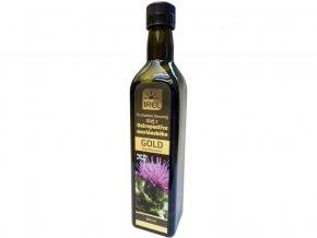 Panenský olej z ostropestřce mariánského 500 ml - GOLD - lahvička