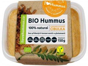 Bio Hummus karamelizovaná cibulka 150g