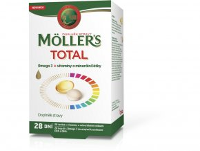 Möller's TOTAL tbl 28 dní 56tbl