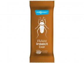 AKCE - Tyčinka Insect kakao raw 40g, Min.trv. 7.8.2020