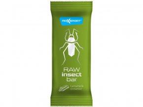 AKCE - Tyčinka Insect kurkuma a skořice raw 40g, Min.trv. 7.8.2020