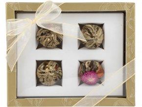 Adikia zlatá set kvetoucích čajů