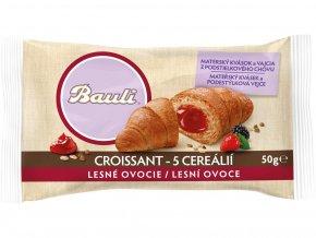 Croissant Bauli 5 cereálií Lesní ovoce 50g