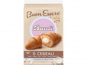 Croissant Bauli 5 cereálií mléčná náplň 300g