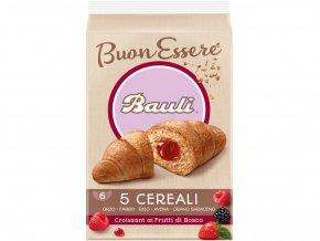 Croissant Bauli 5 cereálií Lesní ovoce 300g
