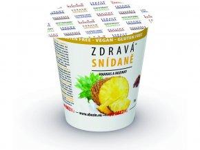 AKCE - Zdravá snídaně - Ananas / rozinka 78g, Min. trv. 28.9.2020