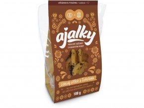 Ajalky - lískový oříšek a čokoláda 100g