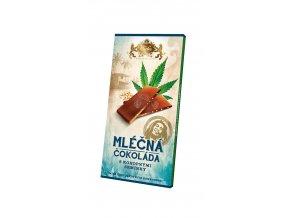 Mléčná čokoláda s konopným semínkem 80g