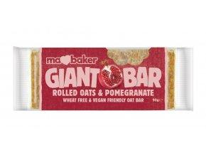 Tyčinka ovesná Giant bar Obří Granátové jablko 90g