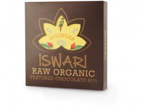 Bio Raw čokoláda - Gojinger 75g