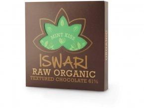 Bio Raw čokoláda - Mint Kiss 75g