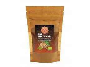 Bio Ajurvéda bylinný prášek Shatawari 60g - hormonální rovnováha
