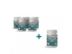 Bio Spirulina 50g Akce 5+1
