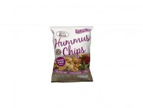 Hummus chipsy – rajče a bazalka 45g