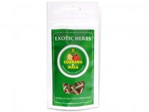 Guarana-maca mix 50/50 veganské kapsle 100Ks