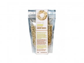 Bio Loupaná konopná semínka raw 250g