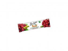 Tyčinka ovocná Dr.Light Fruit Klikva - Malina 30g
