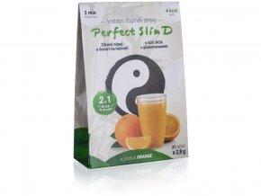 Perfect Slim D – zdravý nápoj a desert na hubnutí 2,8 g (21 sáčků v balení)