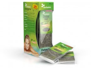 Detoxikační čaj s ženšenem 10 ks + 40% zdarma