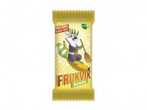 Tyčinka ovocná dětská FRUKVIK Banán 20g, min. trv. 9.10.2019
