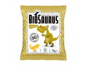 Bio Biosaurus křupky se sýrem 15g