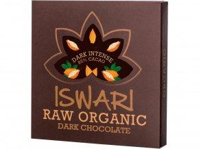 Bio Čokoláda Dark Intense 85% 75g RAW