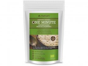 Bio Snídaňová směs One Minute Snack zemní mandle-moringa 300g
