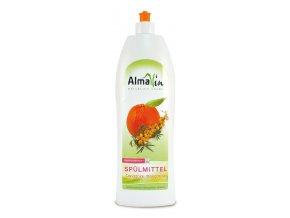 AlmaWin Tekutý prostředek na nádobí Bio rakytník - Bio mandarinka 1l