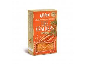 Bio Life crackers Mrkvánky RAW 80 g