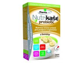 Nutrikase probiotic s banany 180g (3x60g)