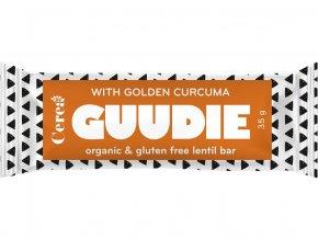 Bio tyčinka s čočkou Guudie kurkuma 35g