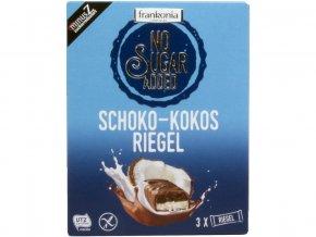 Čokoládovo-kokosová tyčinka bez přidaného cukru 100g
