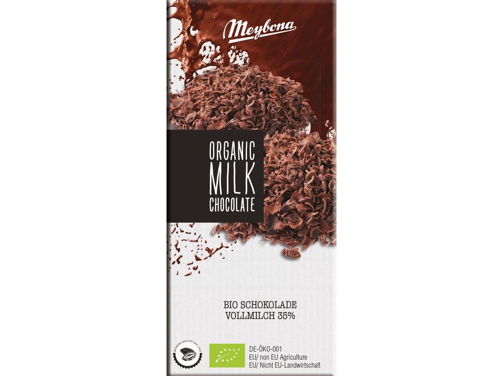 Meybona Čokoláda mléčná 35% BIO 100g