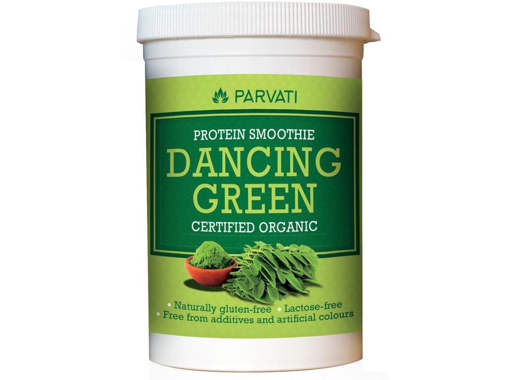 Parvati Bio Proteinový nápoj Dancing Green 160g