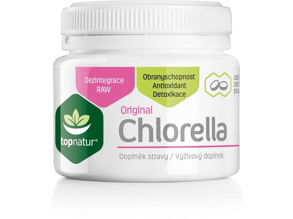 Topnatur Chlorella 250 tablet