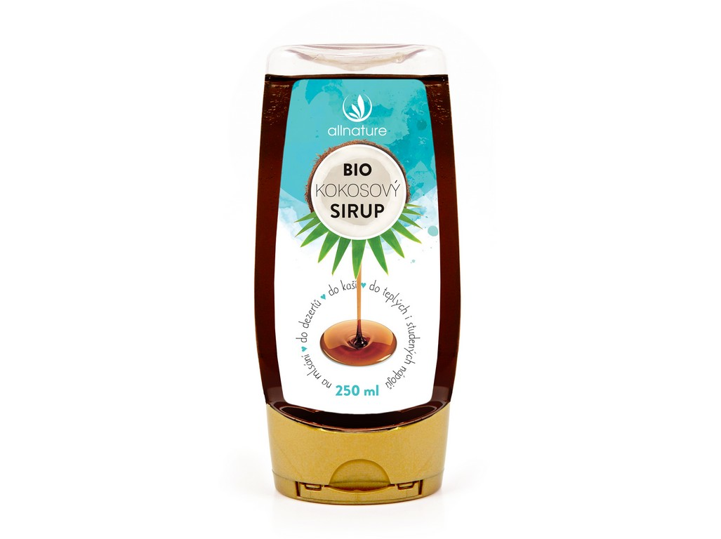 Allnature Bio Kokosový sirup 250ml