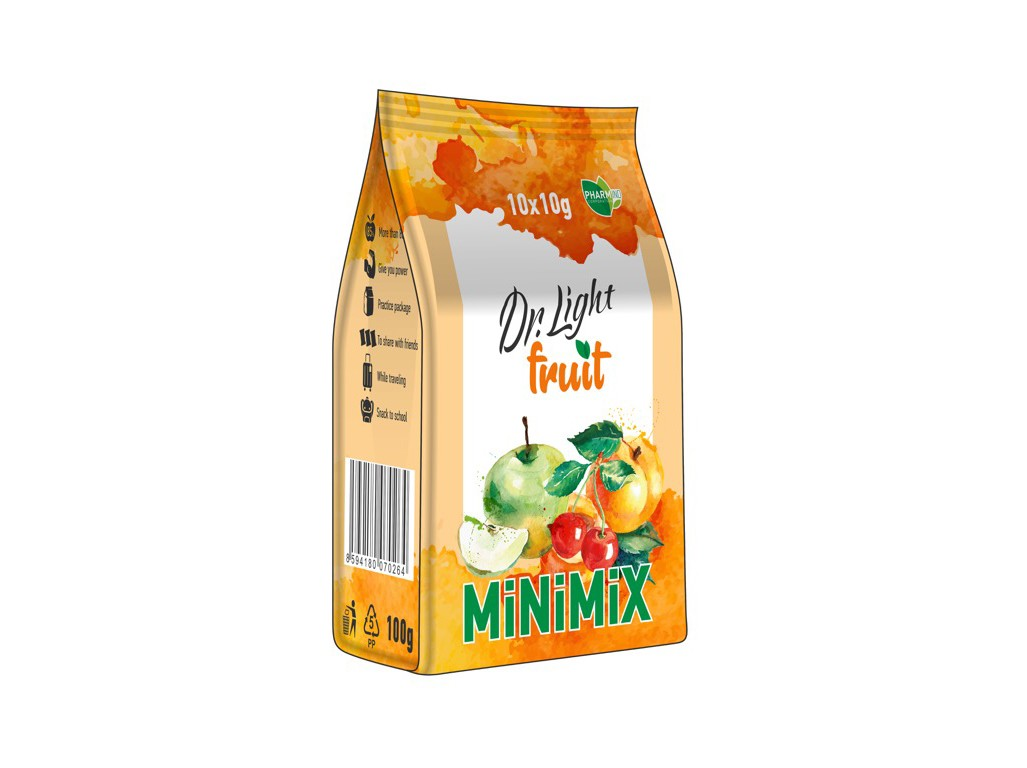 Dr. Light Minimix Dr.light Fruit 10x10g, min.trv. 11.2.2019