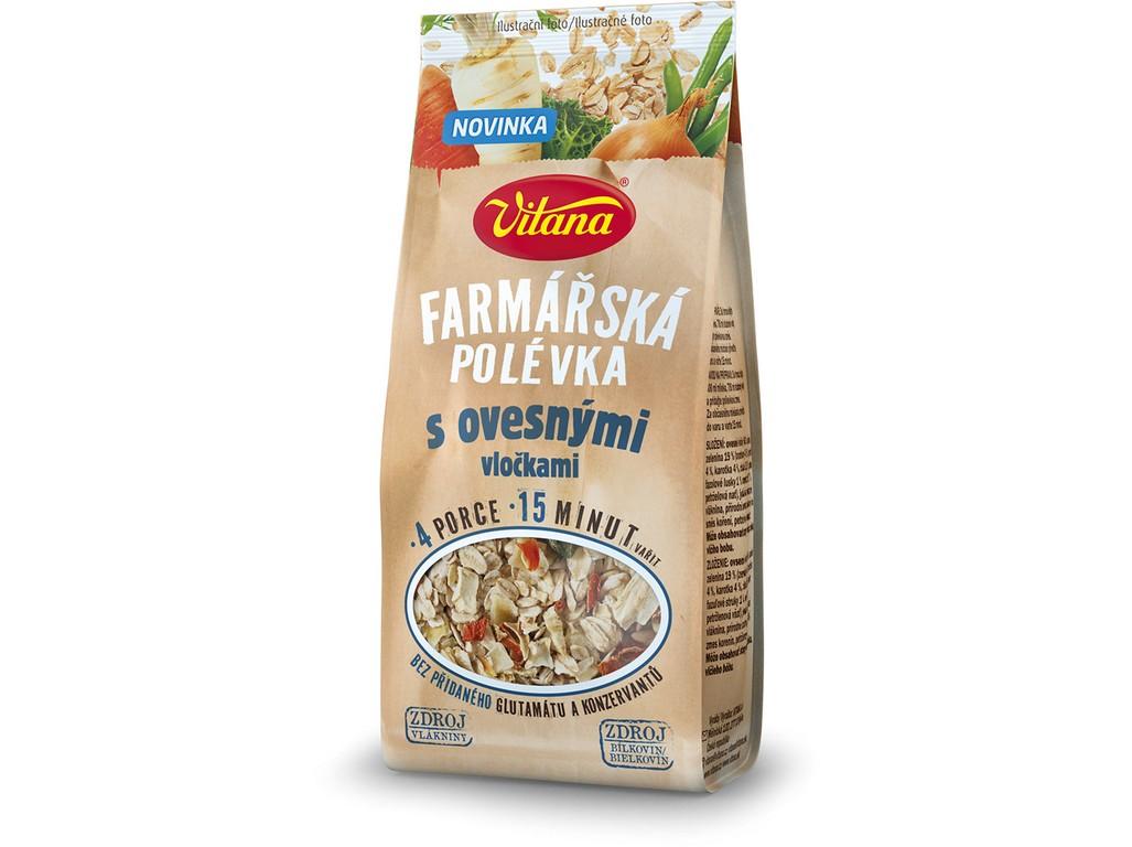 Vitana Farmářská polévka s ovesnými vločkami 100g