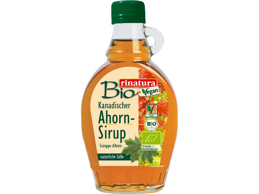 Rinatura Bio Javorový sirup 250 ml