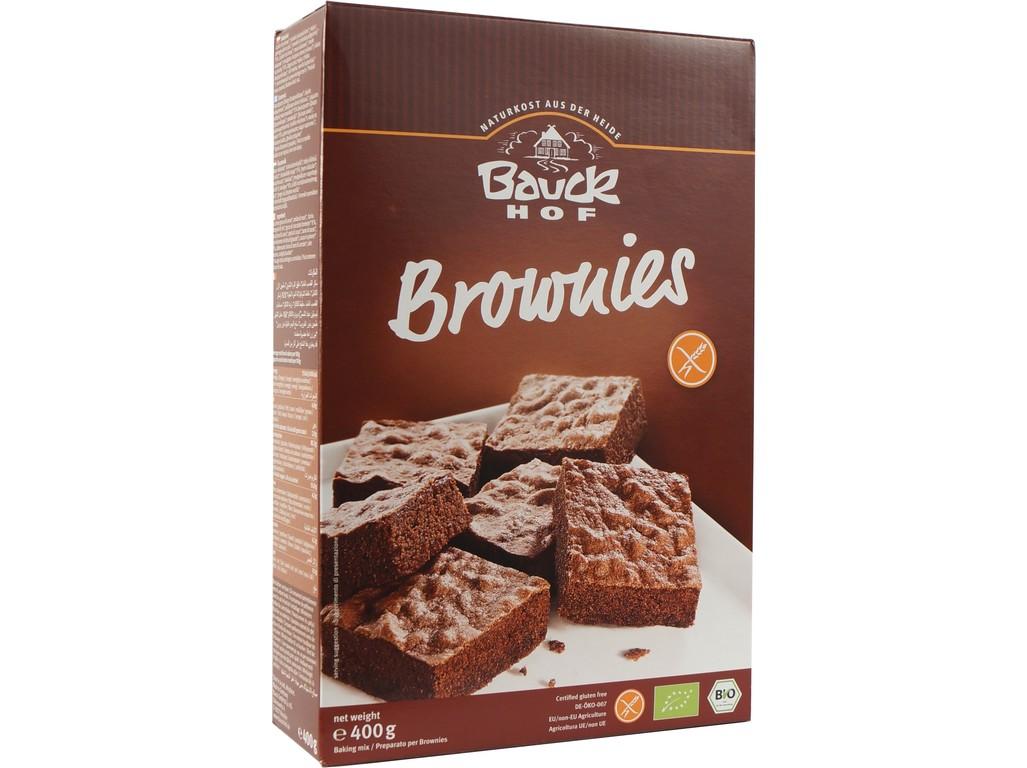 Bauck hof Brownies - čokoládový koláč bezlepková směs 400g Bio