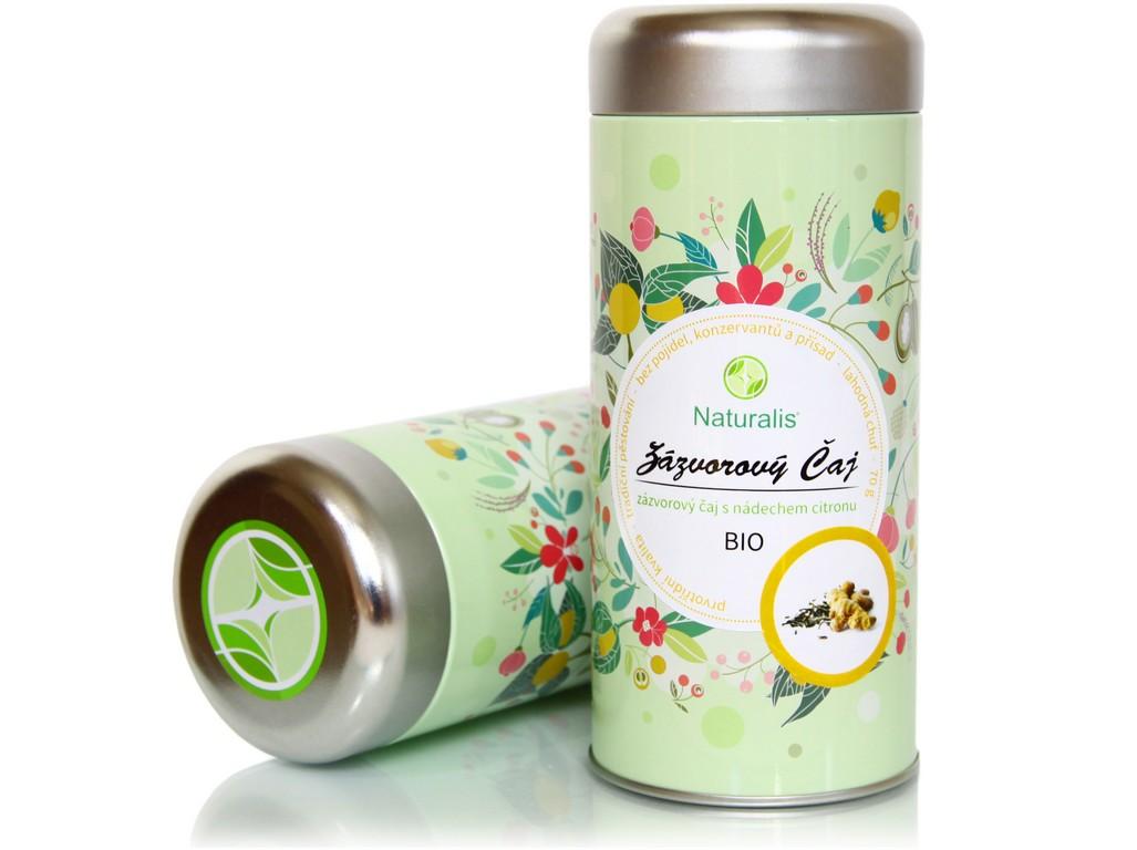 Naturalis Bio čaj zázvorový 70g