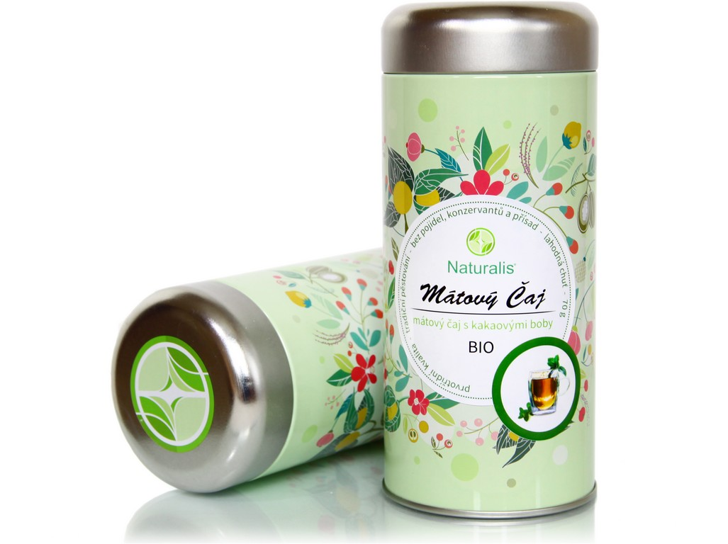 Naturalis Bio čaj mátový 70g