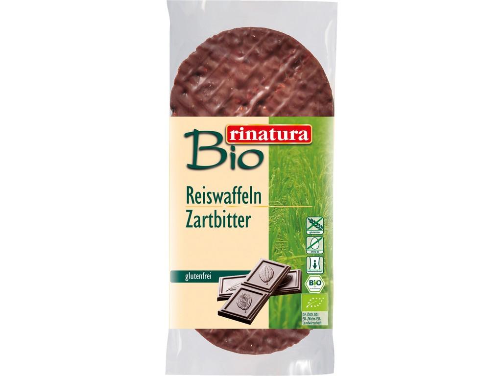 Rinatura Bio chlebíček rýžový s hořkou čokoládou 100g